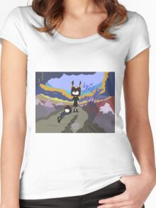 wild guild time Women's Fitted Scoop T-Shirt