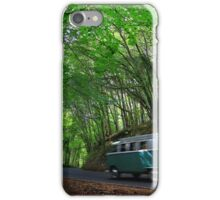 Run To The sea - Stackpole Estate Woodland Road.... iPhone Case/Skin