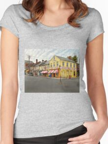 Pharmacy - WL Bond Drugs and Seeds 1927 Women's Fitted Scoop T-Shirt