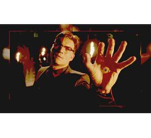 Richie Gecko Eyes (S3 finale) Photographic Print