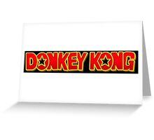 Donkey Kong Greeting Card