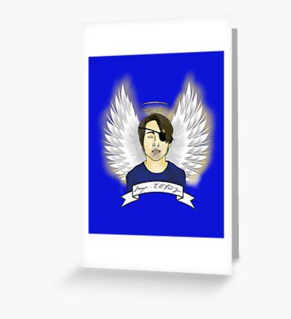 Angel Glenn Greeting Card
