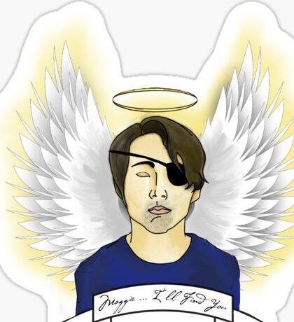 Angel Glenn Sticker