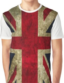 UK Flag - Classic Graphic T-Shirt