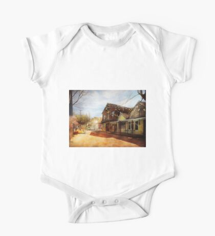 City - California - The town of Downieville 1933 One Piece - Short Sleeve