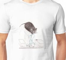Catzilla the Thunder Cloud Kitty Unisex T-Shirt