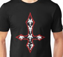 INVERTED RED GOAT CROSS Unisex T-Shirt