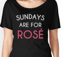 Sundays Are For Rose' Women's Relaxed Fit T-Shirt