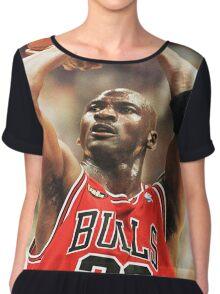 Michael Jordan Chiffon Top
