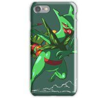 Team Grass - Mega Sceptile iPhone Case/Skin