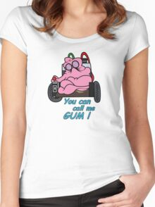 GUM! Women's Fitted Scoop T-Shirt