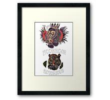 conor mcgregor (gorilla and tiger) Framed Print