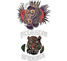conor mcgregor (gorilla and tiger) Photographic Print