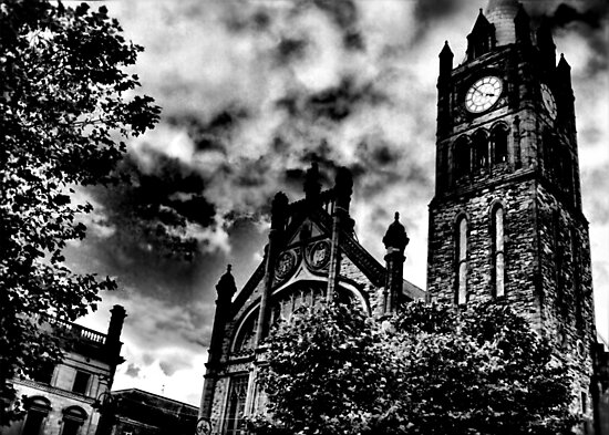 The Guildhall, Derry City, Northern Ireland by Agnes McGuinness