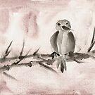 Pangu Bird by Angelique  Moselle