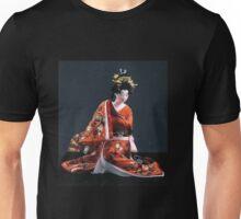 Beautiful Japanese Geisha in formal kimono Unisex T-Shirt