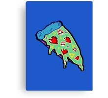 Pizza & Games ver.NationalPizzaDay Canvas Print