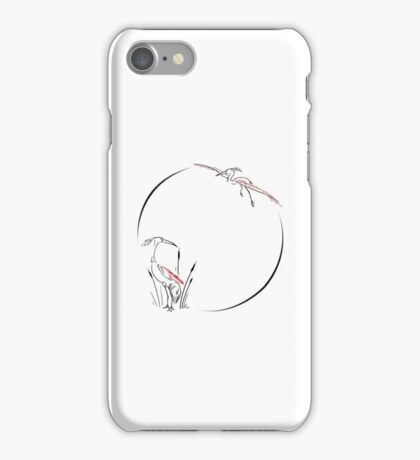 Order of the Red Crane iPhone Case/Skin