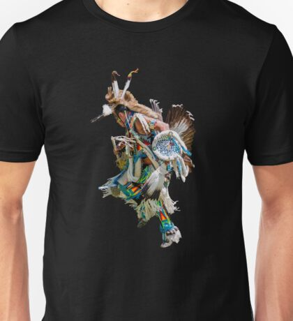 Battle dance American Indians  Unisex T-Shirt