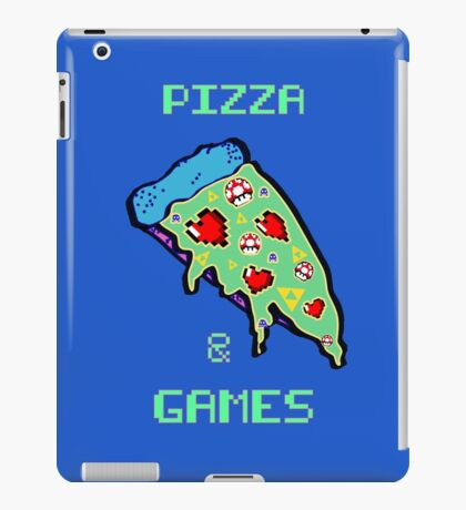 Pizza & Games iPad Case/Skin