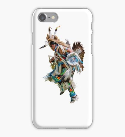 Battle dance American Indians  iPhone Case/Skin