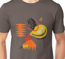 Abstract - Red/Yellow/Orange Unisex T-Shirt