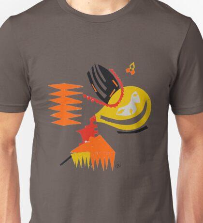 Abstract - Red/Yellow/Orange Unisex T-Shirt