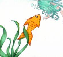 Fish are Friends Sticker
