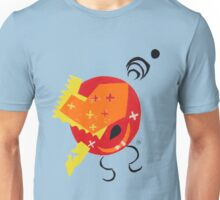Abstract - Red/Orange/Yellow 2 Unisex T-Shirt