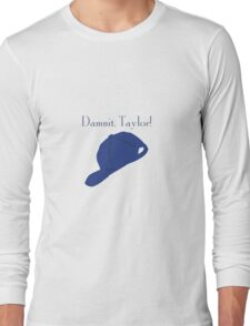 """Damnit Taylor!"" Luke Danes quote and hat Gilmore Girls Long Sleeve T-Shirt"