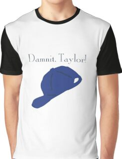 """""""Damnit Taylor!"""" Luke Danes quote and hat Gilmore Girls Graphic T-Shirt"""