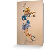 Sailor Snow Greeting Card