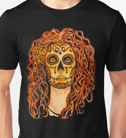 Autumnal Dia de los Muertos Unisex T-Shirt
