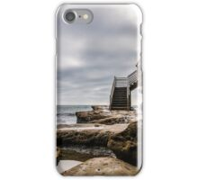 Storm Clouds over Surfer Stairway to Heaven iPhone Case/Skin