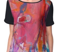 From the Core:  Entropy Chiffon Top