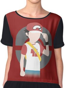 Red's Return - Pokemon Sun & Mood Chiffon Top