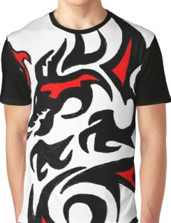 Dragon Red Graphic T-Shirt