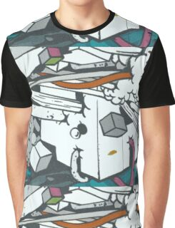 Graffiti Smash by Sleepertrain Graphic T-Shirt