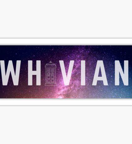 Whovian Sticker