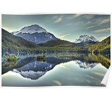 Lake Sylvan, New Zealand Poster