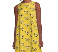 Silent Night: Ampharos A-Line Dress
