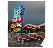 Blue Top Drive-In Poster
