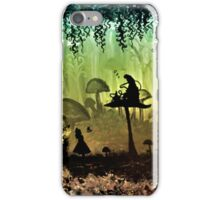 Think Alice & Smoking Caterpillar iPhone Case/Skin