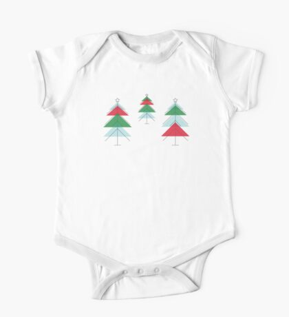MCM Christmas Tree Forest One Piece - Short Sleeve