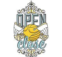I Open At The Close by Aaron Sales