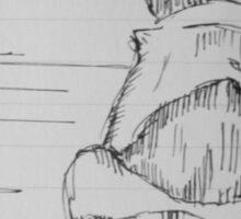 Dog Sketch Sticker