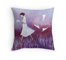 Learning Lines Throw Pillow