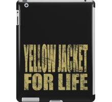 Yellow Jacket for Life iPad Case/Skin