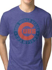cubs 2016 Tri-blend T-Shirt