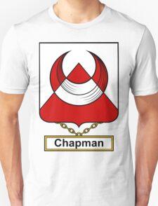 Chapman Coat of Arms (English) T-Shirt